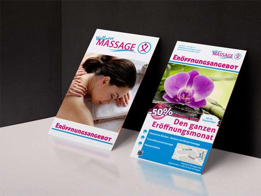 Wellness Massage Isny Flyer